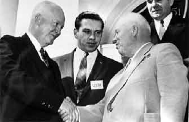 Soviet/American Summit in Paris