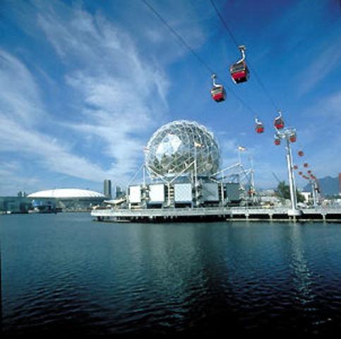 Expo 86 Opens