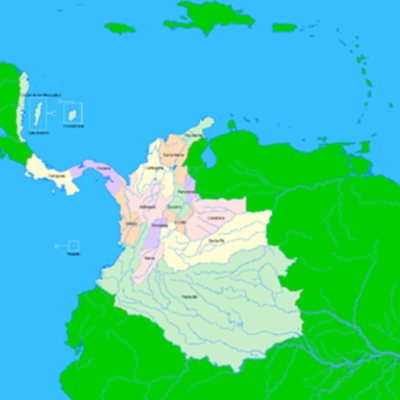 Predidentes de la Nueva Granada  timeline