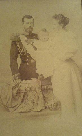 Czar Nicholas becomes Czar