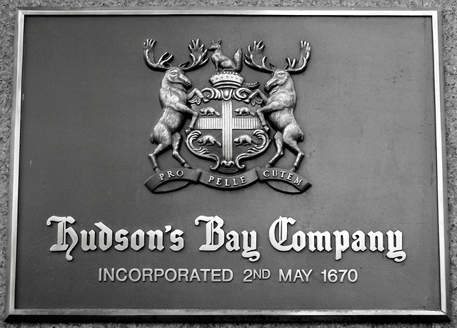 The Hudson's Bay Company (HBC) was founded