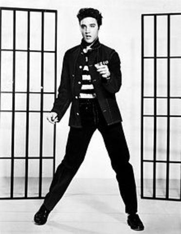 Elvis Presley dies