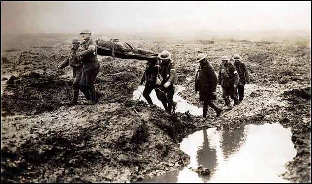 End of World War 1 - an estimated 12 million dead