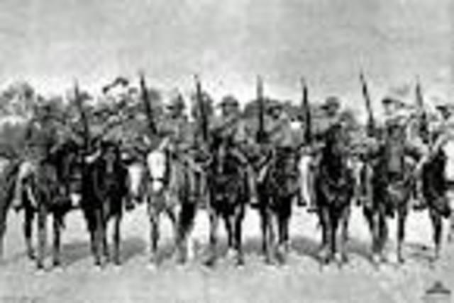 Australians first serve in the Boer War