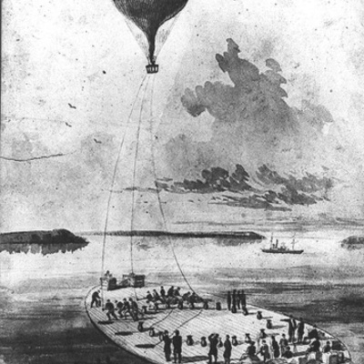 Evolution of Hot Air Balloons as a Civil War Survailance Weapon  timeline