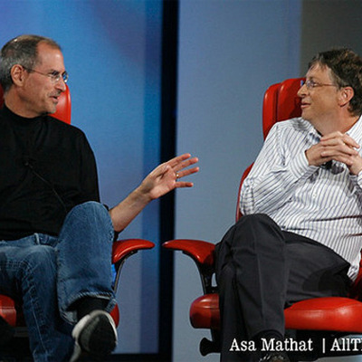Biografia Steve Jobs y Bill Gates timeline