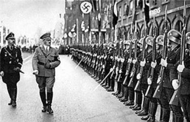 Violates the Treaty of Versailles