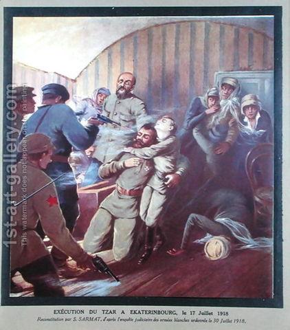 Czar Nicholas II  executed