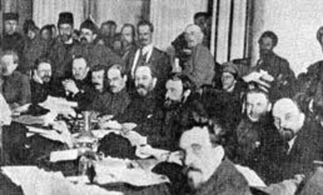 October 1917: Bolsheviks came to power in Russia.