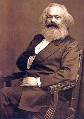 Karl Marx is born.