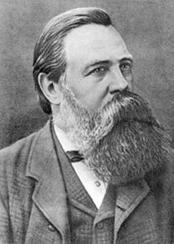 Frederick Engels is born.