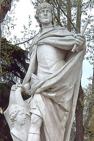Leovigilad the last Arian ruler of the spainsh Visigothic