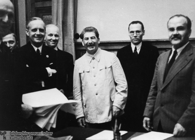 The Non-Aggression Pact is Signed
