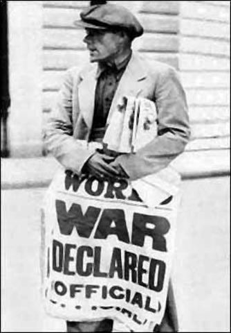 Declaration of War on Germany