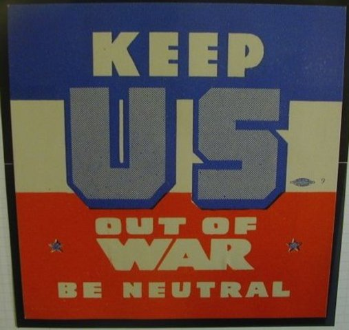 United States of America Proclaims Neutrality