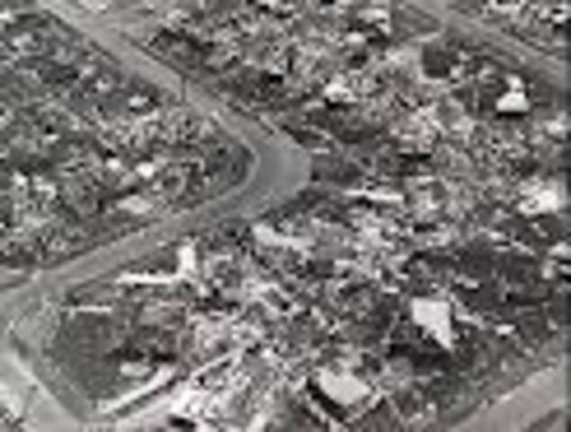 Cyclone Tracy wrecks Darwin