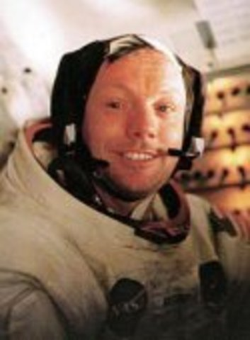 First human on moon, Neil Armstrong