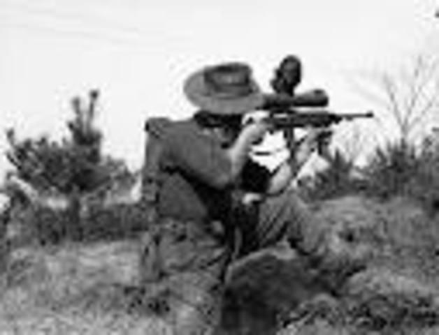 Australians first serve in the Korean War