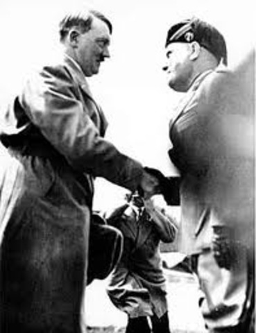 Hitler signs Pact of Steel with Italy