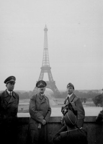 France surrenders by signing armistice