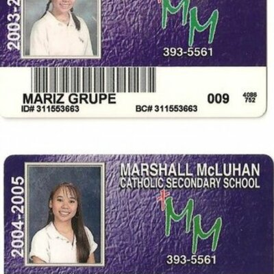 Patricia's High School Years at Marshal Mcluhan 2003-2006 timeline