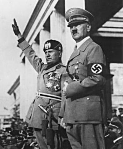 Hitler declares himself Führer