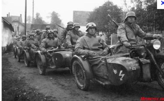 Nazis invade Poland using Blitzkrieg (Lightening War)