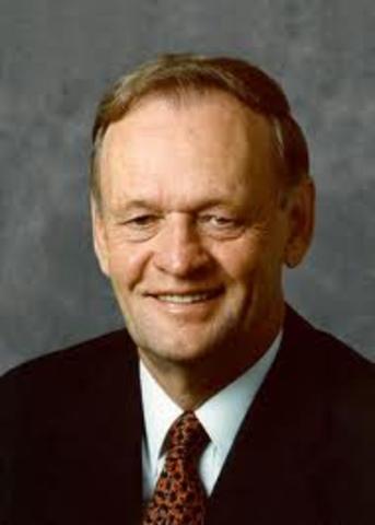 Jean Chretien became Minister of State for Finance.