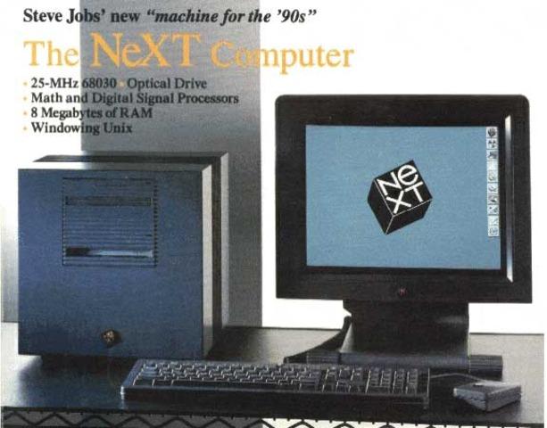 JOBS CREA NEXT COMPUTER INC