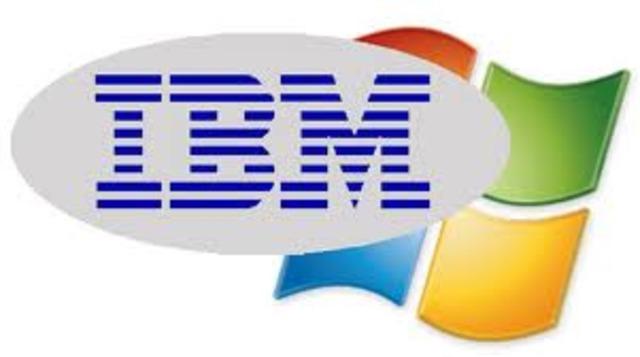 IBM Y MICROSOFT TOMAN DIFERENTES CAMINOS