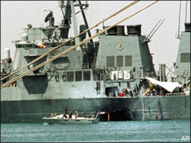 USS Cole bombing.