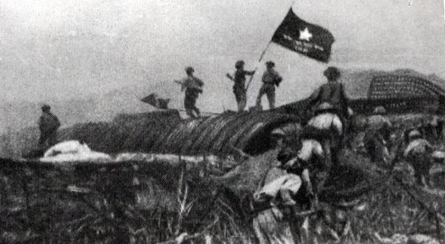 Battle of Dien Bien Phu, France surrenders to Ho Chi Minh