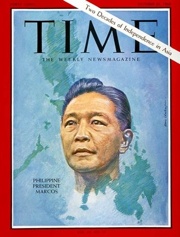 Ferdinand Marcos becomes President