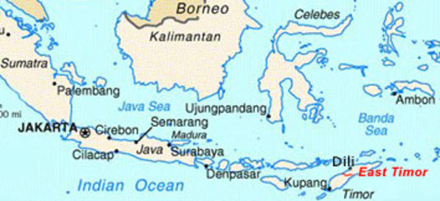 Indonessia Annexs East Timor