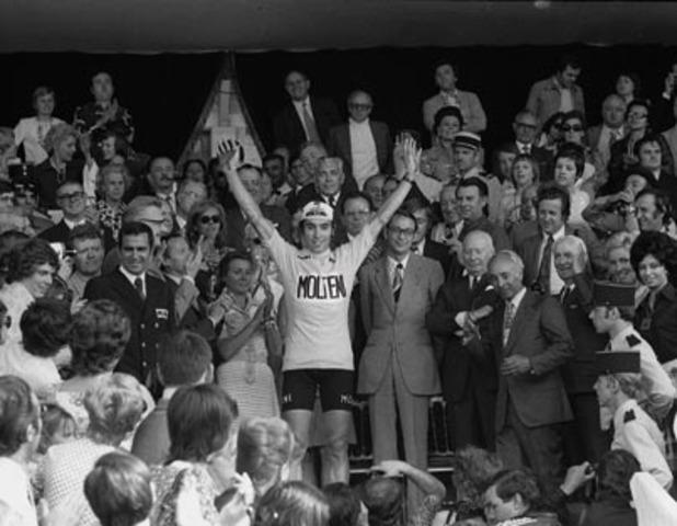 1974 - A fifth win for Eddy Merckx