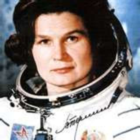 1st Woman is Launched Into Space