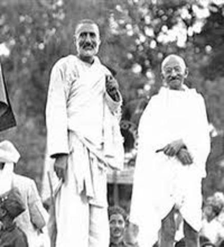 Beginnings of Satyagraha