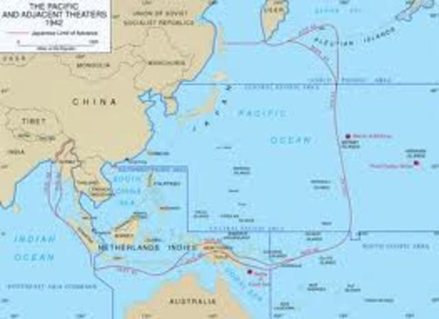 Japan had built a large empire in the Asia-Pacific Region