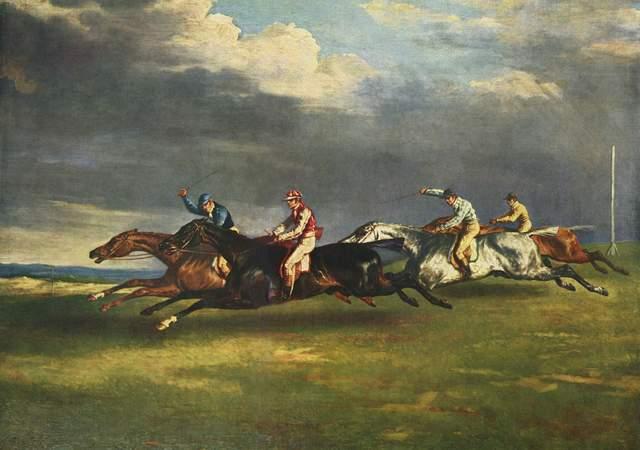 Théodore Géricault - Derby d'Epsom