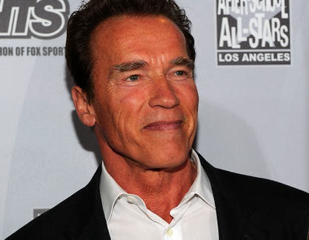 Arnold Schwarzenegger elected