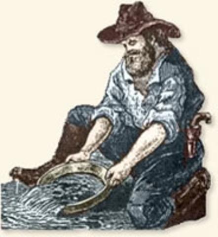 California Gold Rush Begins