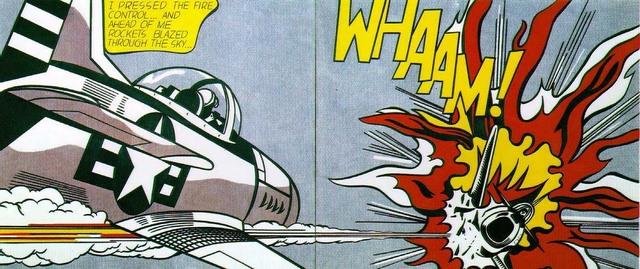 Roy Lichtenstein - Whaam !