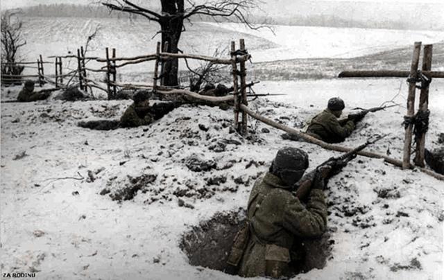 Hitler Attacks Moscow