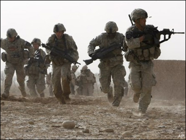 The attack on Afghanistan