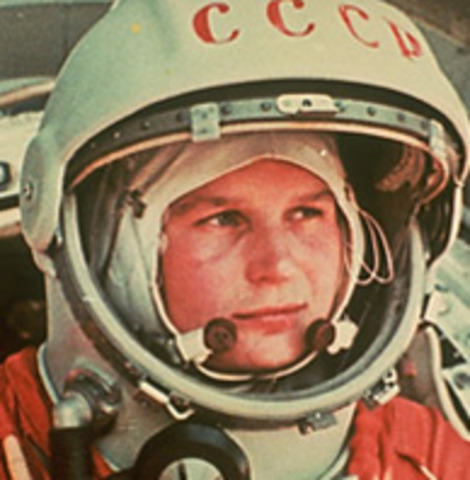 1963-the first woman went to space