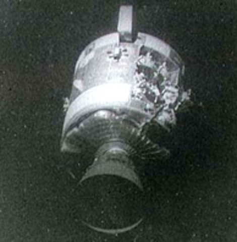 1970-the apollo 13 exploded in space