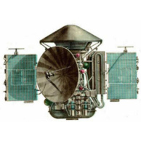 1973-the Russian space probe explored mars