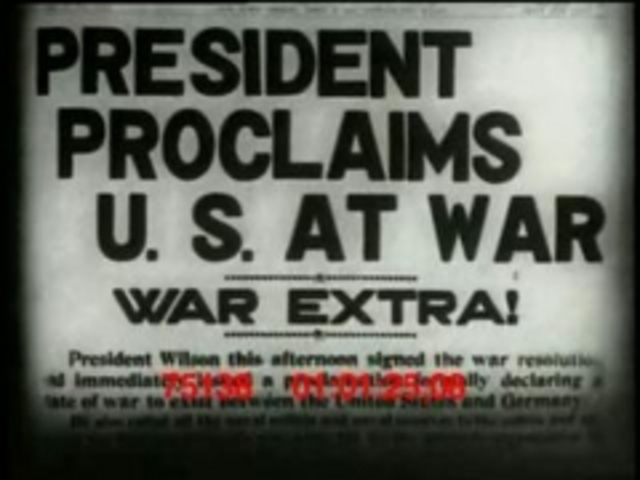 U.S Enter War