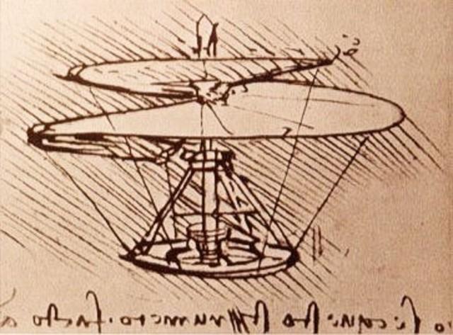 Die Flugspirale da Vincis