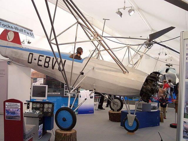 Der erste gebruachsfähige Hubschrauber der Welt (Focke-Wulf Fw 61)